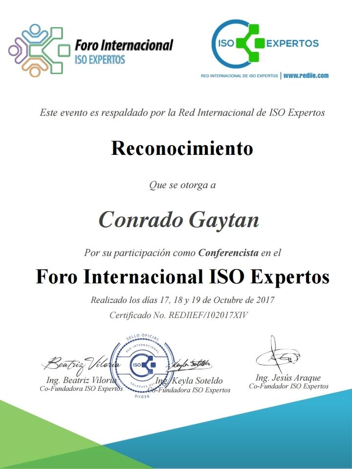 Conrado Gaytan - Conferencista For ISO Expertos 2017.pdf_page_1